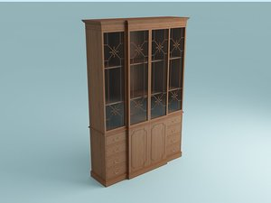case mahogany 3d model