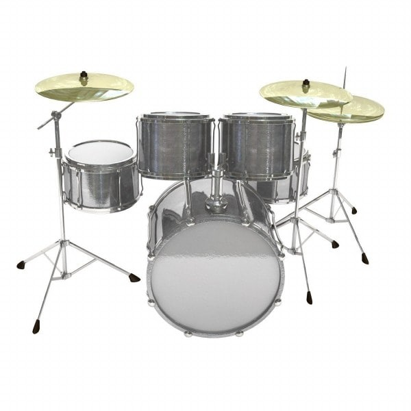 drum set 3d 3ds