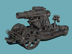 wwi skoda-305 m11 3d model