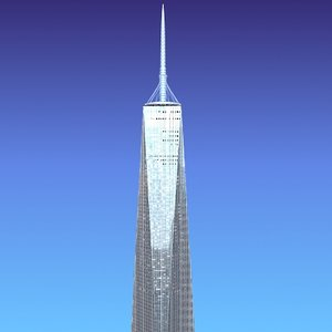3d freedom tower model