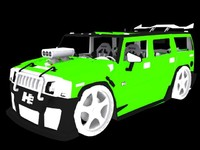 3d model of h2