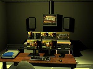 3d video editing suite