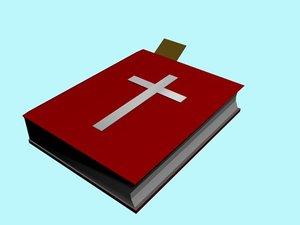 3d bible model