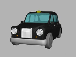 3ds max taxi