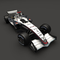mp4-20 modelled 3d model