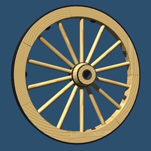 free lwo model wagon wheel
