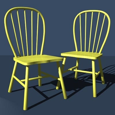 free chairs 3d model