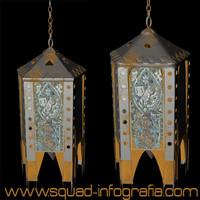 oriental lamp 3d model