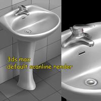 lavatory lavatory01n 3d model