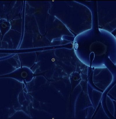 neuron cell 3d lwo