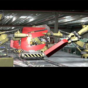 3ds mechanical arm