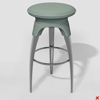Stool bar058_max.ZIP
