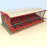 maya stadium grandstand stand