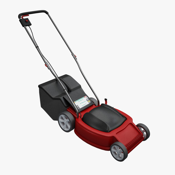 lawnmower lawn mower 3d model