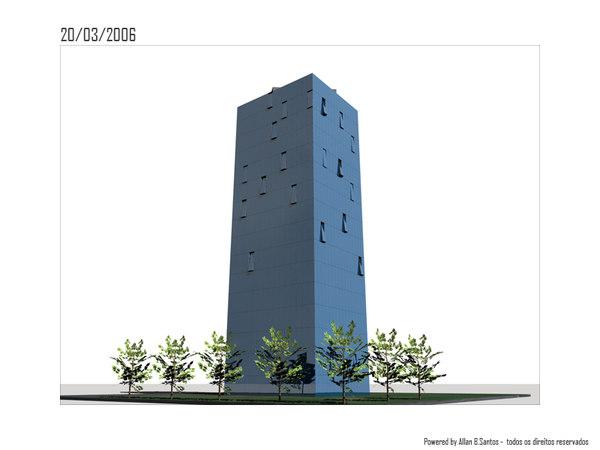 building sp city c4d