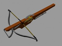 Medieval crossbow (high detailed)
