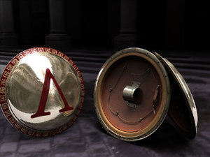 aspis shield 3d model