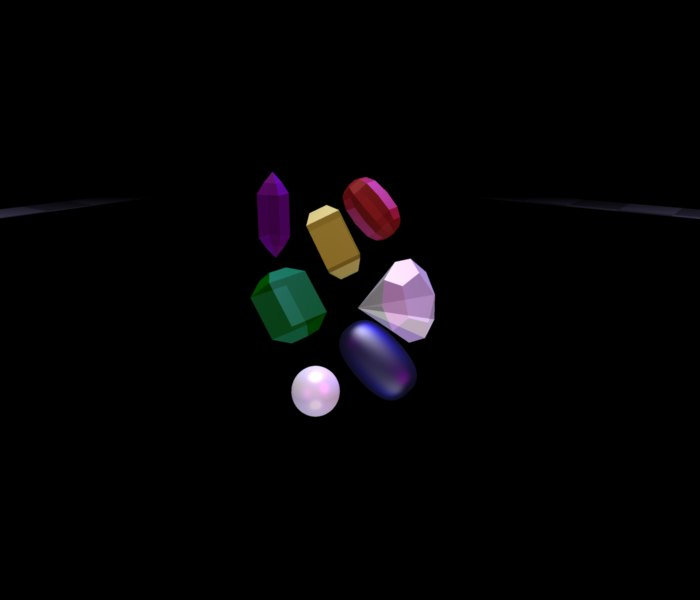 seven gemstones 3ds free