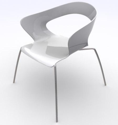 cartel chair 3d model