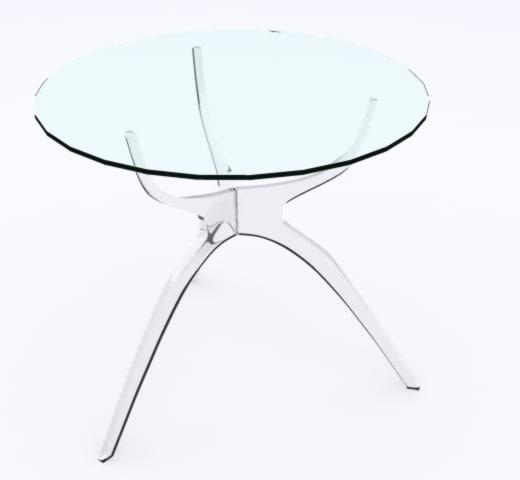 arena lamp table 3d max