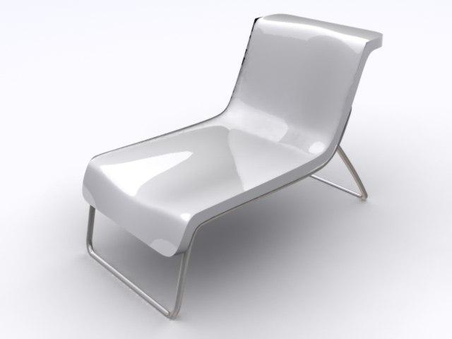 3d armchair kartel