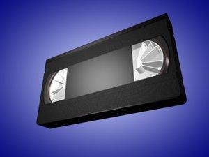 3d 3ds video tape cassette