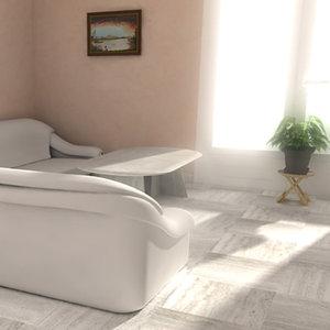 living room salon max