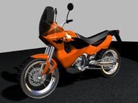 3d model moto
