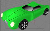 free sports car nova 3d model