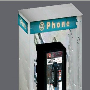 free pay phone 3d model