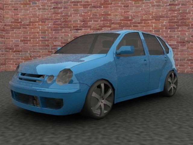 3ds max car polo