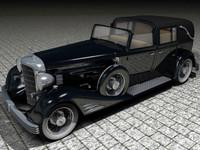 cadillac car 3d model