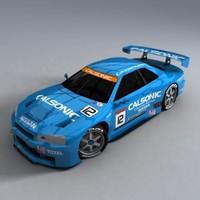 Nismo GTR Calsonic