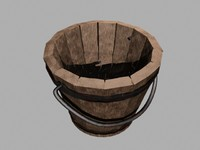 wooden bucket lwo