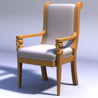 Skull Arm Chair