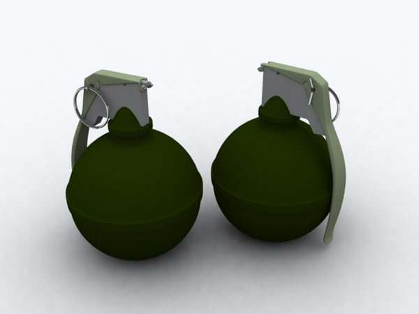 M67 Grenade 3D Models for Download | TurboSquid
