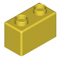 Small Thin Duplo Block