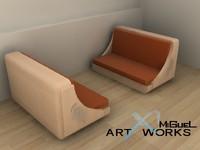 3d sofa home living