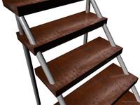 maya wood shader ladder