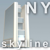 NY skyline - marriott marquis.zip