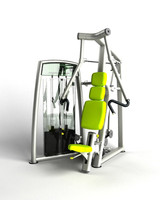 chest press 3d model