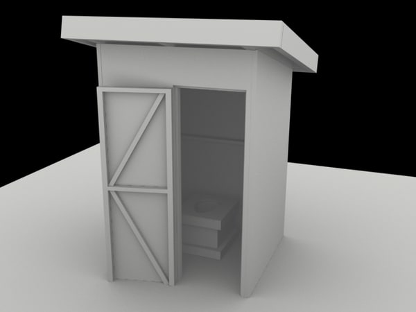 3d indian house model