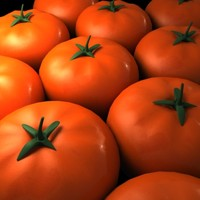 3ds max real tomatos