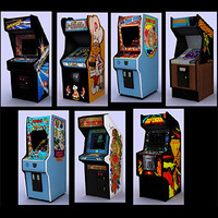 Classic arcade games - pack 1