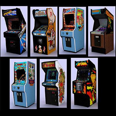 3ds max - classic arcade 1