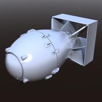 fatboy nuke 3d model