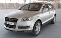 audi q7 2007 luxury 3ds