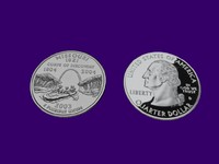 missouri state quarter 3d model