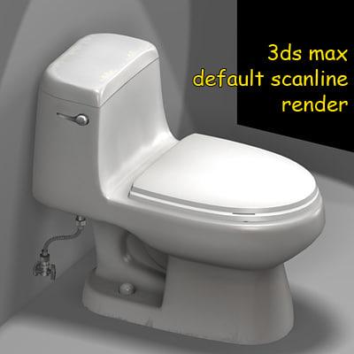 toilet toilet02n 3d model