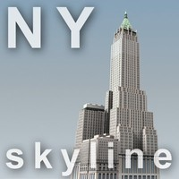 NY skyline - trump building.zip